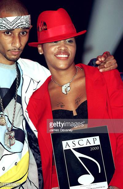 Swizz Beatz and Eve during 2000 ASCAP Rhythm and Soul Awards at Hammerstein Ballroom at the Manhattan Center in New York NY United States