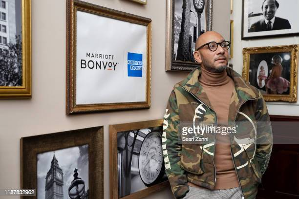 Swizz Beatz and the Marriott Bonvoy™ American Express® Credit Card portfolio Celebrate Women in Art on November 14 2019 in New York City Photo by...