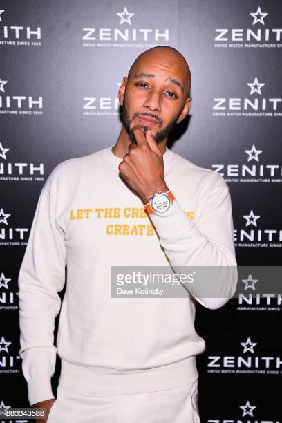 Swizz Beatz and Zenith Watches celebrate the launch of The Defy Collection at the Angel Orensanz Center on November 30 2017 in New York City