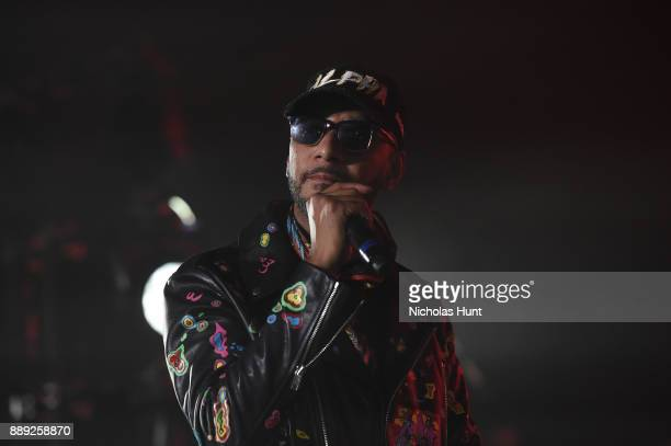 Swizz Beatz attends BACARDI Swizz Beatz and The Dean Collection bring NO COMMISSION back to Miami to celebrate 'Island Might' at Soho Studios on...