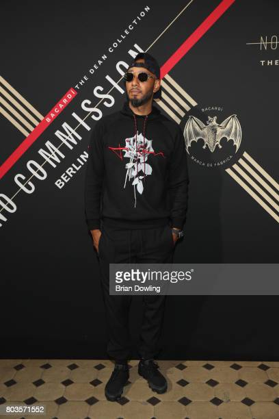 Swizz Beatz attends Bacardi X The Dean Collection Present No Commission Berlin on June 29 2017 in Berlin Germany