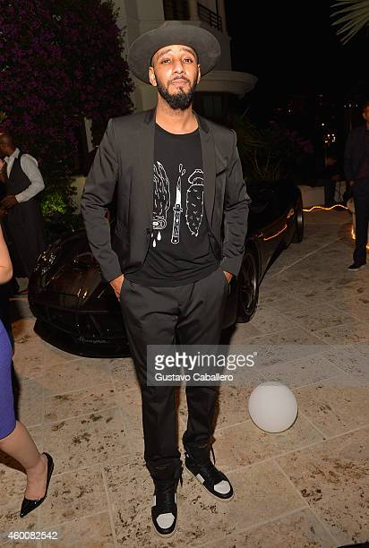 Swizz Beatz attends Haute Living 10th Year Anniversary Party on December 6 2014 in Miami Florida