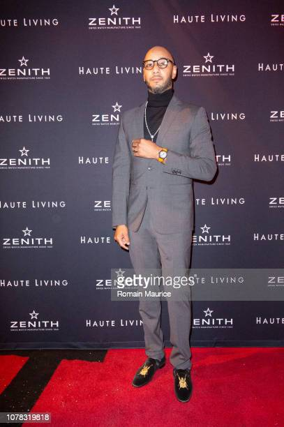 Swizz Beatz attends Haute Living And Zenith Celebrate Swizz Beats at Mynt Lounge on December 6 2018 in Miami Beach Florida
