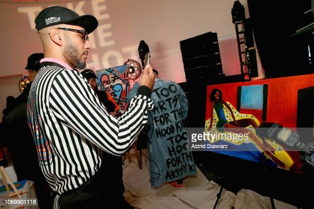 Swizz Beatz attends No Commission: Miami presented by BACARDÍ x The Dean Collection on December 7, 201 at Faena Forum on December 7, 2018 in Miami...