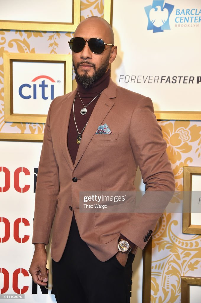 Swizz Beatz attends Roc Nation THE BRUNCH at One World Observatory on January 27, 2018 in New York City.