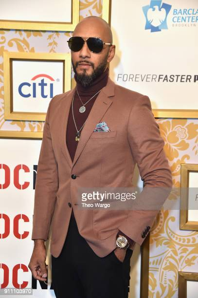 Swizz Beatz attends Roc Nation THE BRUNCH at One World Observatory on January 27 2018 in New York City