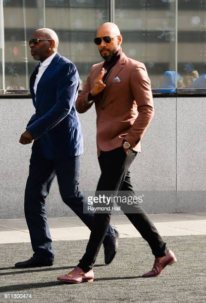 Swizz Beatz attends Roc Nation THE BRUNCH on January 27 2018 in New York City