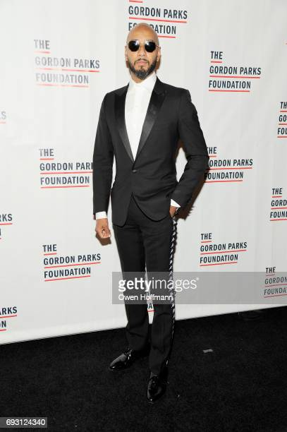Swizz Beatz attends the Gordon Parks Foundation Awards Dinner Auction at Cipriani 42nd Street on June 6 2017 in New York City