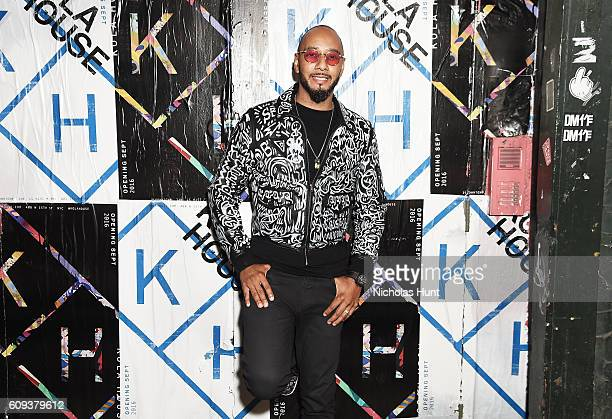 Swizz Beatz attends the Kola House Opening Party at Kola House on September 20 2016 in New York City