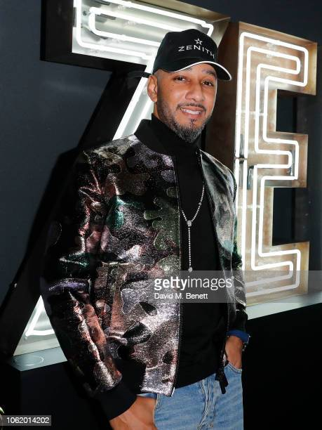 Swizz Beatz attends the Zenith Watches party with Swizz Beatz to celebrate the Defy Collection at The Scotch of St James on November 15 2018 in...
