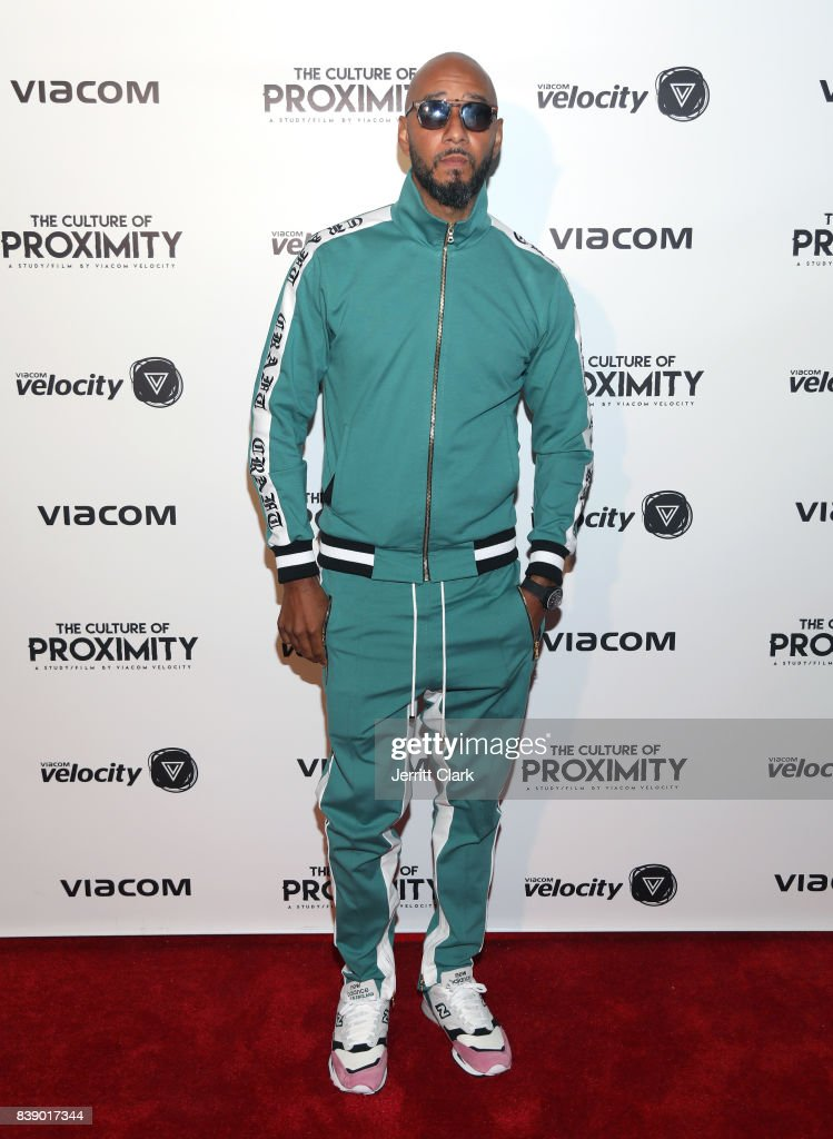 Swizz Beatz attends Viacom 'Culture of Proximity' Screening at NeueHouse Los Angeles on August 24, 2017 in Hollywood, California.