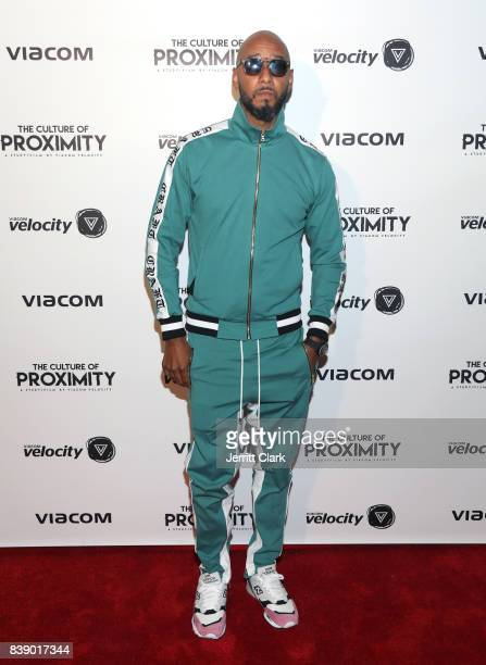 Swizz Beatz attends Viacom Culture of Proximity Screening at NeueHouse Los Angeles on August 24 2017 in Hollywood California