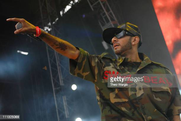 Swizz Beatz during HOT 97 Summer Jam 2007 at Giants Stadium in Rutherford New Jersey United States