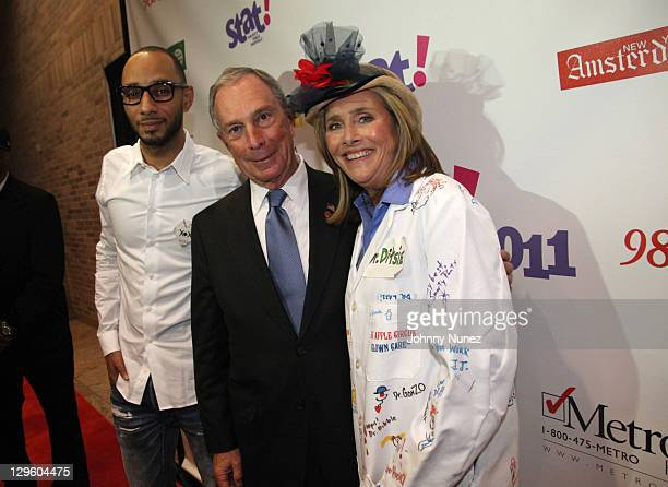 Swizz Beatz New York Mayor Michael R Bloomberg and Meredith Viera attend the 2011 STAT For New York City's Public Hospitals Gala at Bellevue Hospital...