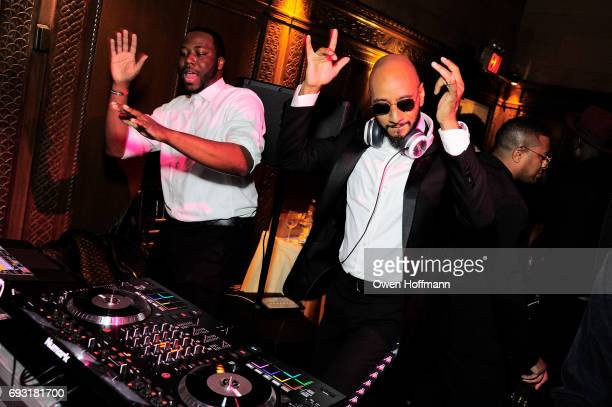 Swizz Beatz performs during the Gordon Parks Foundation Awards Dinner Auction at Cipriani 42nd Street on June 6 2017 in New York City