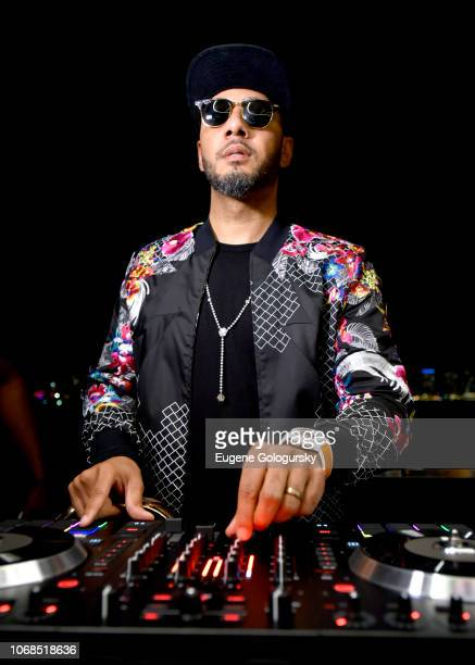 Swizz Beatz performs during the Lumiere De Vie Resort event during Art Basel on December 4 2018 in Miami Beach FL