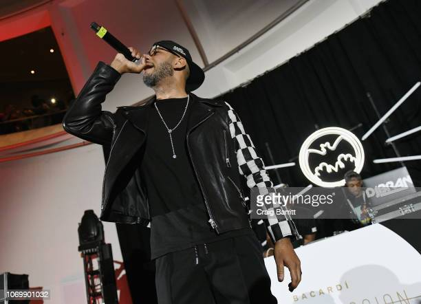 Swizz Beatz performs on stage at No Commission: Miami presented by BACARDÍ x The Dean Collection on December 7, 201 at Faena Forum on December 7,...