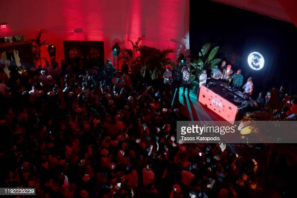 Swizz Beatz performs onstage during Rum Room: Miami with Swizz Beatz presented by BACARDI at Faena Forum on December 05, 2019 in Miami Beach, Florida.