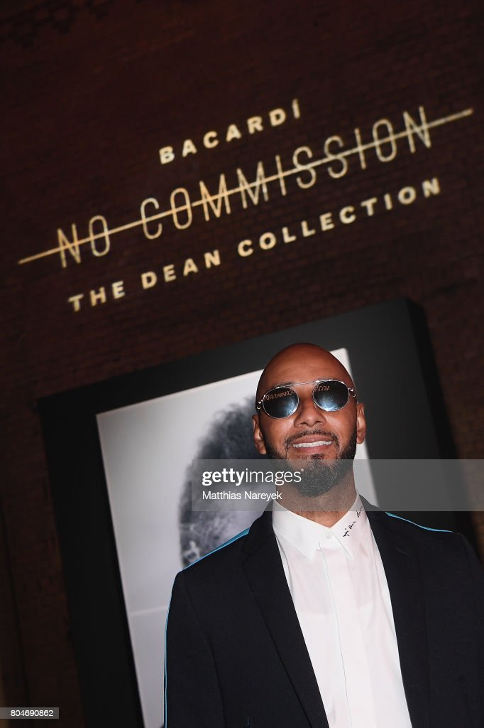Swizz Beatz poses at Bacardi X The Dean Collection Present: No Commission on June 30, 2017 in Berlin, Germany.