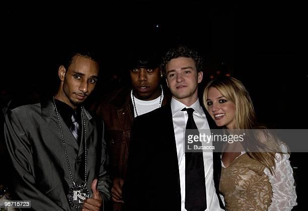 Swizz Beatz Rockweiler Justin Timberlake and Britney Spears