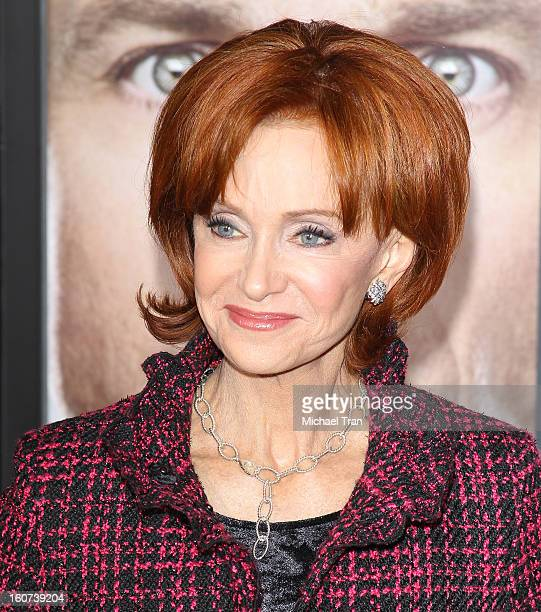 """Swoosie Kurtz arrives at the Los Angeles premiere of """"Identity Thief"""" held at Mann Village Theatre on February 4, 2013 in Westwood, California."""