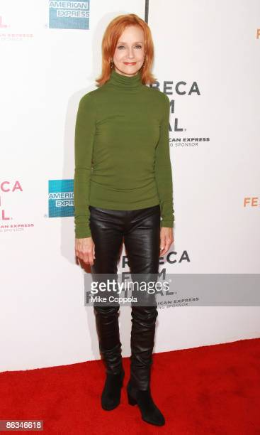 """Swoosie Kurtz attends the premiere of """"Poliwood"""" during the 8th Annual Tribeca Film Festival at the BMCC Tribeca Performing Arts Center on May 1,..."""
