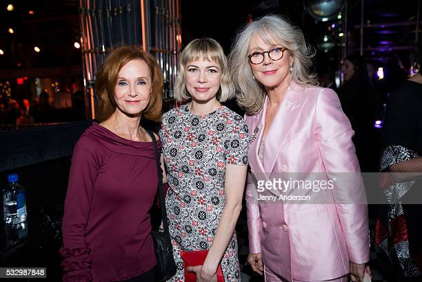 Swoosie Kurtz Michelle Williams and Blythe Danner attend Tony Awards 2016 Luncheon at Diamond Horseshoe on May 19 2016 in New York City