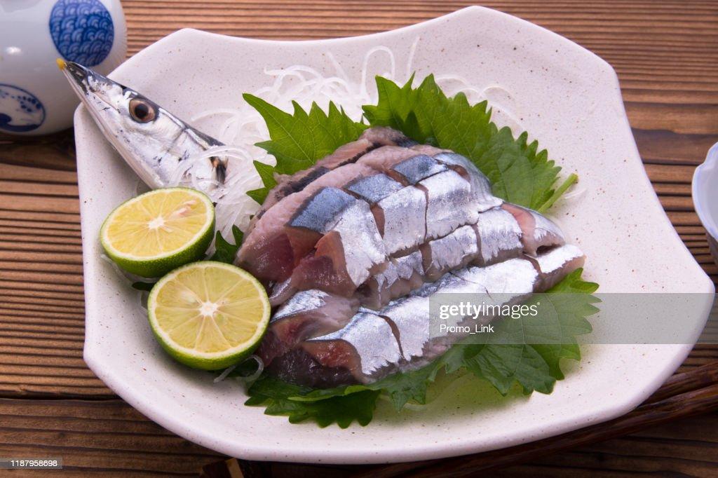 Sword fish sashimi : Stock Photo