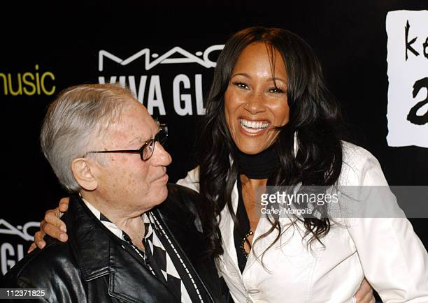 Sy Kravitz and Cynthia Garrett during Alicia Keys Presents The Pusher's Ball to Benefit Keep a Child Alive Arrivals at Angel Orensanz in New York...