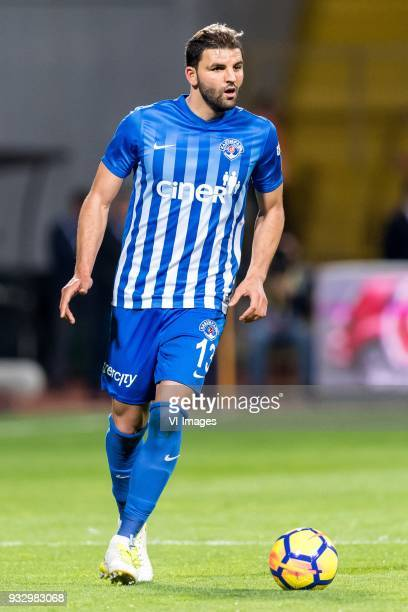 Syam Habib Ben Youssef of Kasimpasa AS during the Turkish Spor Toto Super Lig match between Kasimpasa AS and Antalyaspor AS at the Recep Tayyip...