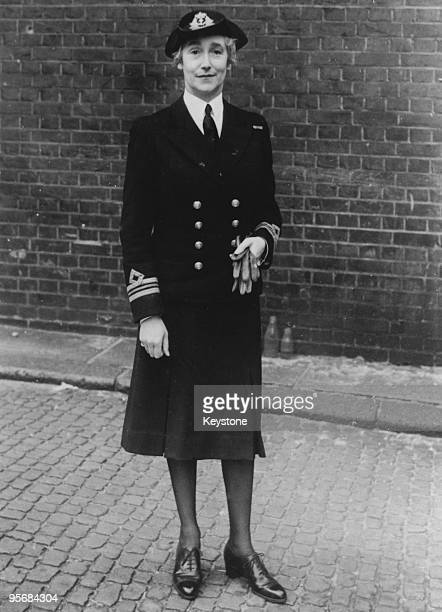 Sybil Cholmondeley Lady Cholmondeley in her WRNS uniform during World War II 22nd July 1941 She is a WRNS Chief Staff Officer