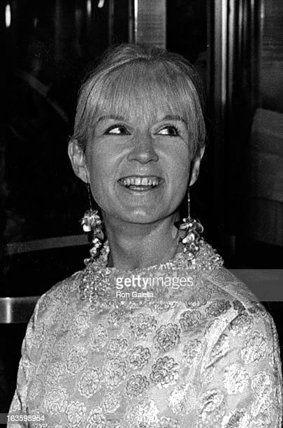 Sybil Christopher attends Marlene Dietrich Opening Party on October 9 1967 at the Rainbow Room in New York City