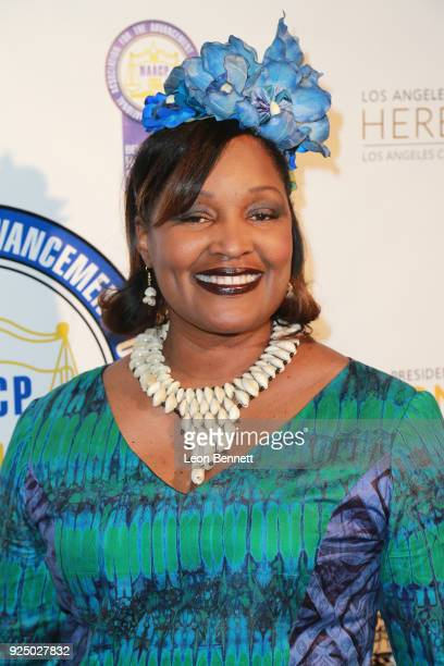 Sybil Harris attends the 27th Annual NAACP Theatre Awards at Millennium Biltmore Hotel on February 26 2018 in Los Angeles California
