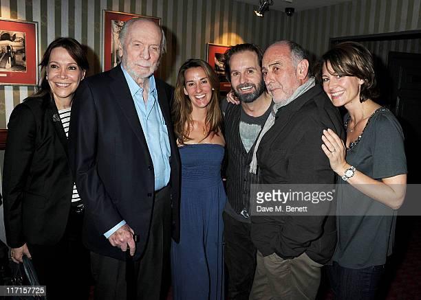 Sybil Kretzmer Herbert Kretzmer Sarah Boe Alfie Boe ClaudeMichel Schonberg and Charlotte Schonberg attend a postshow drinks reception following Matt...