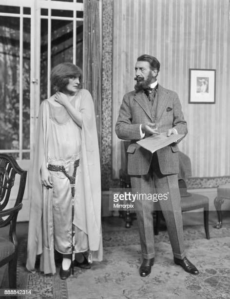 Sybil Thorndyke as Rosalic and Franklin Dyall as Nicholas in 'The Nutcracker Suite' at The Little Theatre, 26th April 1922.