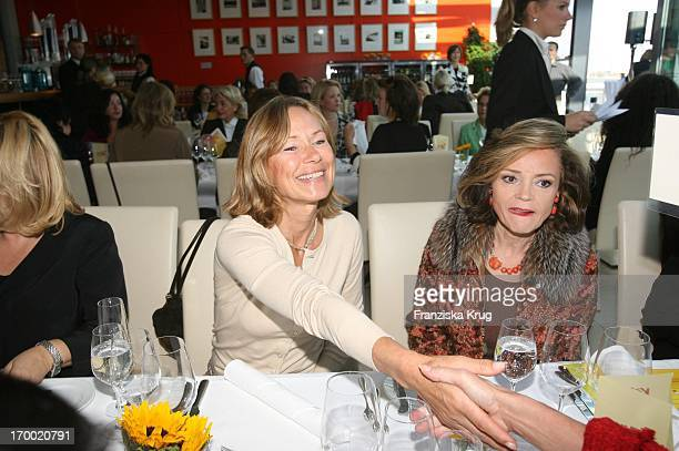 Sybille Beckenbauer And Ann Katrin Bauknecht When DKMS Life Charity Lunch in Berlin at 191005