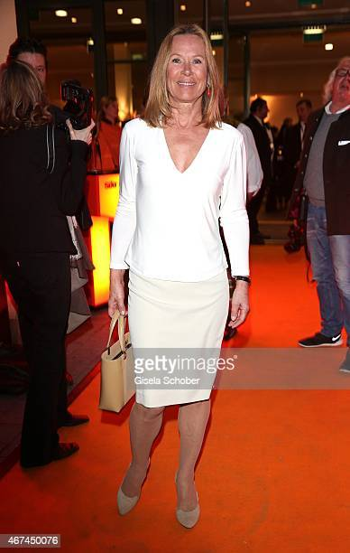 Sybille Beckenbauer during the SIXT fashion dinner at Nockherberg on March 24 2015 in Munich Germany