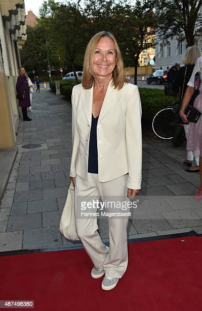 Sybille Beckenbauer during the 'Susanne Wiebe Fashion Art Show' on September 9 2015 in Munich Germany