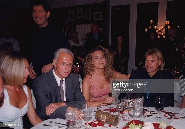 Sybille Beckenbauer Ehefrau FranzBeckenbauer Romana Hinterseer EhefrauHansi Hinterseer GeburtstagsfeierBichlalm Kitzbühel sterreich