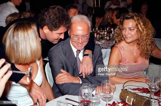 Sybille Beckenbauer Ehefrau Jack WhiteFranz Beckenbauer Romana HinterseerGeburtstagsfeier Bichlalm Kitzbühel sterreich