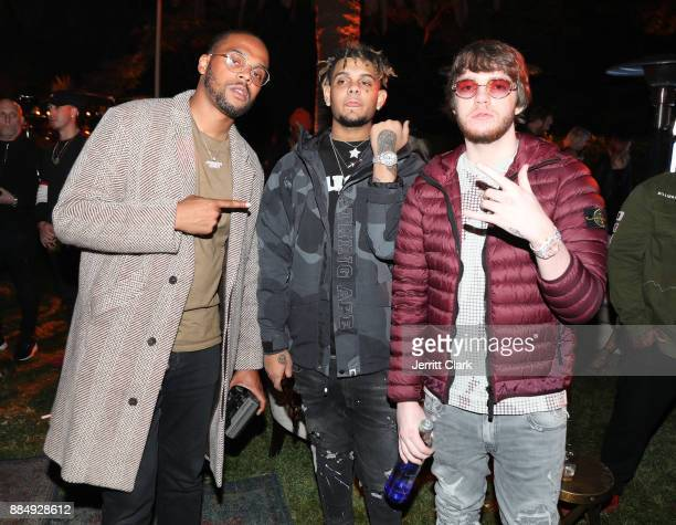 Sycamore Smoke Purpp and Murda Beatz attend The Four cast Sean Diddy Combs Fergie and Meghan Trainor Host DJ Khaled's Birthday Presented by CÎROC and...