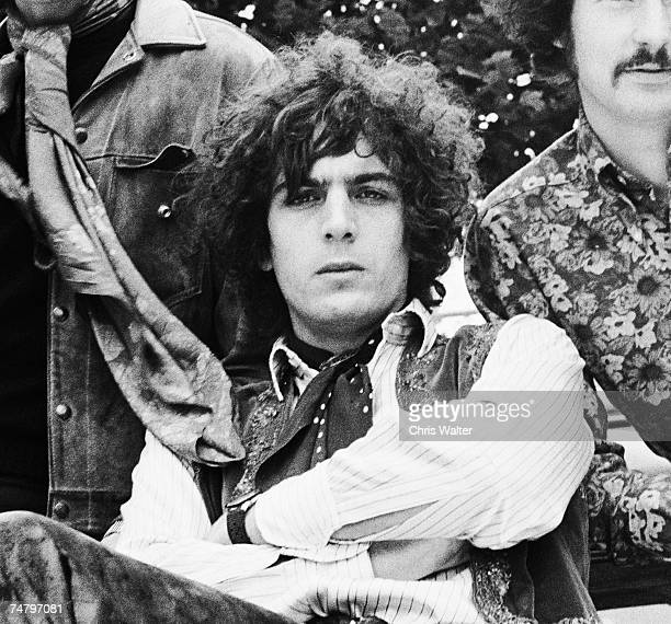 Syd Barrett founding singer songwriter and guitarist of Pink Floyd in 1967 at the Music File Photos 1960's in Various Cities