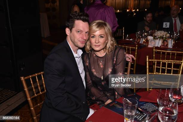 Syd Butler Amy Carlson attend as Equality Now celebrates 25th Anniversary at Make Equality Reality Gala at Gotham Hall on October 30 2017 in New York...