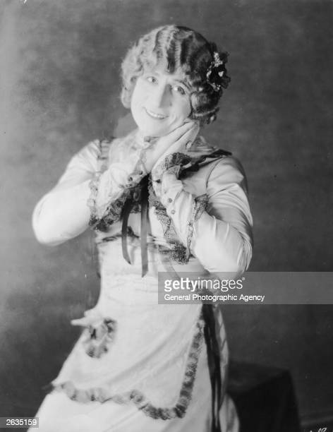 Syd Chaplin elder brother of Charlie Chaplin and an English comedy actor of the 1920s in drag