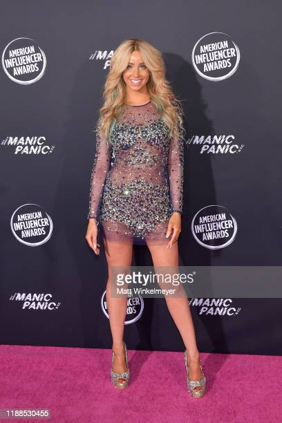 Syd Wilder attends the 2nd Annual American Influencer Awards at Dolby Theatre on November 18 2019 in Hollywood California