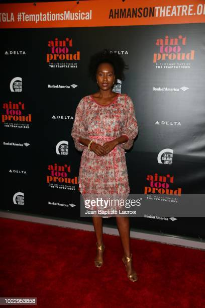 Sydelle Noel attends the Opening Night of 'Ain't Too Proud The Life And Times Of The Temptations' at the Ahmanson Theatre on August 24 2018 in Los...
