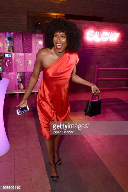 Sydelle Noel of Glow attends Entertainment Weekly PEOPLE New York Upfronts celebration at The Bowery Hotel on May 14 2018 in New York City