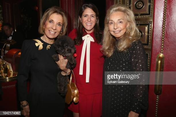 Sydie Lansing Amanda Mariner and Eleanora Kennedy attend David Patrick Columbia And Chris Meigher Toast The QUEST 400 At DOUBLES on September 27 2018...