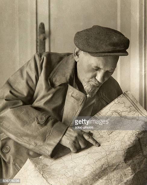Sydir Artemovych Kovpak , Ukrainian partisan leader during the World War Two . Ca. 1930.