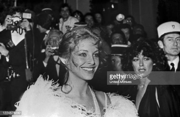 Sydne Rome at the Cannes Film Festival 1974, France, 1970s.